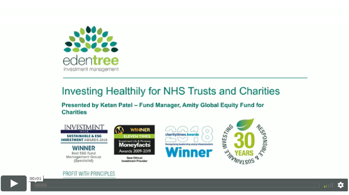 Investing Healthily for NHS Trusts and Charities