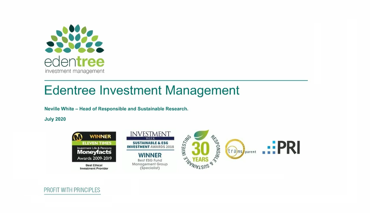 An introduction to responsible investment with Thomas & Thomas Finance